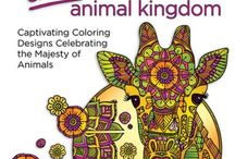 Inkspirations Animal Kingdom / Take your artistry for a walk on the wild side with 32 original coloring designs that celebrate the awesomeness of animals.