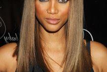 h a i r : b r u n e t t e / Natural brown hair, natural looking brown hair