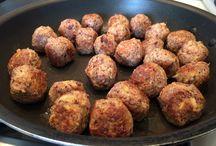 Veggie loaf and balls