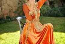 caftan orange
