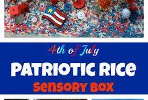 Fourth of July with Kids / by Erica Leggiero @ eLeMeNO-P Kids