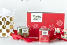 Mighty Leaf Tea | My Tea Gifts / This holiday season, be the gift giver everyone loves. Give a Mighty Gift from Mighty Leaf. We've teamed up with some of our favorite folks to inspire you with gift sets for the fun people in your life.