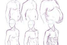 Como dibujar hombres