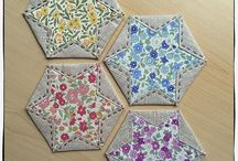 Variation hexagons / Coasters