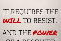 decipline & willpower