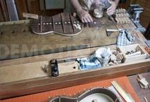 luthería / fabricación de guitarras