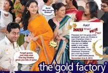 Dhanteras 2015 / Your favourite Dhanteras is back again to the gold factory!