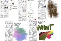 Paint Tool Sai & Photoshop