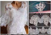 blouse chrochet