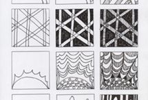 "zentangle ""howtos"" / how to draw various zentangle patterns"