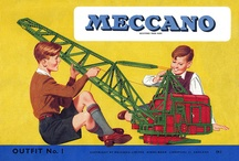 Memories: Meccano / The metal construction kit invented by Frank Hornby that fired my imagination.