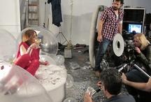 Producción en Bubble Studios día 3 /  Mumm + Gaby Herbstein + Belén Blanco