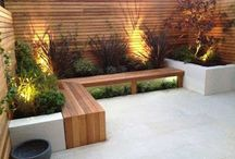 patios pequeños y jardines de interior