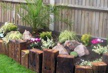 trädgårds idé