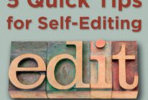 5 Quick Tips for Self-Editing / Making your book as good as it can be is one of the best book marketing tools you have.