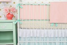 Mint Nursery Design Ideas / Mint is a versatile color that can be used in girl, boy and neutral nurseries. This board should give you some inspiration for all things mint in the nursery! / by Caden Lane
