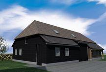 Bijgebouwen Studio SBA / Van een carport, tuinhuis, studio tot aan de bijgebouwen van een landgoed, Studio SBA heeft voor al uw wensen een oplossing.