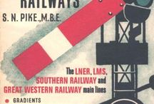 Railway Books and DVDs / British Books and DVDs about Railways