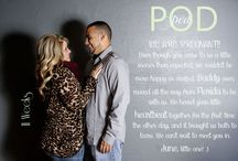 Pea in the Pod / Weekly pregnancy pictures