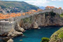 Dubrovnik / Dazzling Dubrovnik offers UNESCO-listed heritage set against the pure blue backdrop of the Adriatic. www.secretearth.com/destinations/57-dubrovnik