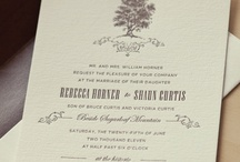 Wedding Graphic Design Inspiration / by Lindsey Bridge