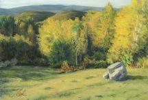 My Work / pastel landscape painting