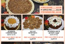 Thanksgiving 2015 / Thanksgiving Presale has begun! Call our stores to place orders or visit our website to download the order form: http://eddascakedesigns.com/thanksgiving-presale/