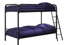 Bunk Beds- Twin over Twin / All types of bed frames, from twin to CA King, basic to fancy upholstered, canopy, loft style, trundle, bunk beds and more.