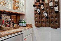 Bottle drying corner