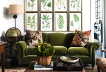 Botanicals / Illustrated botanicals, home decor and indoor plants / by Katie Taylor