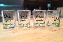 shots glasses