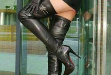 Leather Mistress In Boots