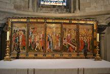 Gotické obrazy a fresky / Gothic paintings and frescos