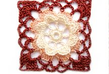 Crochet squares / Free Lacey patterns
