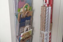 organize gift wrapping