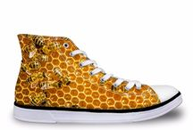 Bee Shoes / Bee inspired with our footwear! Save the Bees here.