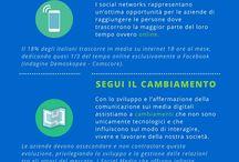 I nostri infografici / Infografici creati da Social Media Easy - Roberto Grossi