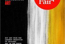 Art Fairs / We exhibit at several Art Fairs including Edinburgh, Aberdeen and Buy Art Manchester.