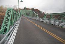 Rocks Village Bridge, Haverhill, MA / Vehicle bridge deck Rocks Village Bridge, Haverhill, MA