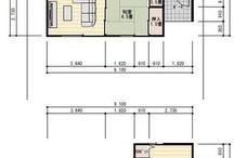リビング和室土間収納