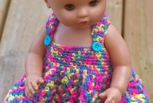 Dolls dresses crochet