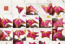 Korálky vánoční hvězdy