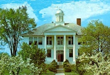 Maine Colleges / You can also visit http://collegehistorygarden.blogspot.com/ for more information.