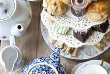 Afternoon Tea in Nottinghamshie / Quintessentially British cream teas in Nottinghamshire.