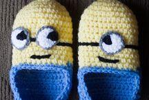 Hæklet sko / slippers
