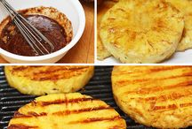 Grilled Pineapple / Fruit