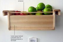 Grow & conserve your own food / Inspiratie om zelf groente en/of fruit te verbouwen en tips om het (zo lang mogelijk) te bewaren.