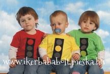 Iker ruhák hármas ikreknek