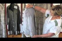 Just Sewing - Re-Stylin' 2 / upcycling clothing / by Floy H