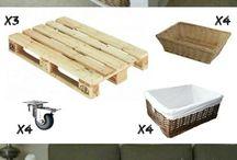 Idées de meubles bois palettes